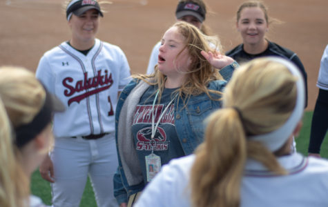 Jessica Jansen, Saluki softball's number one fan