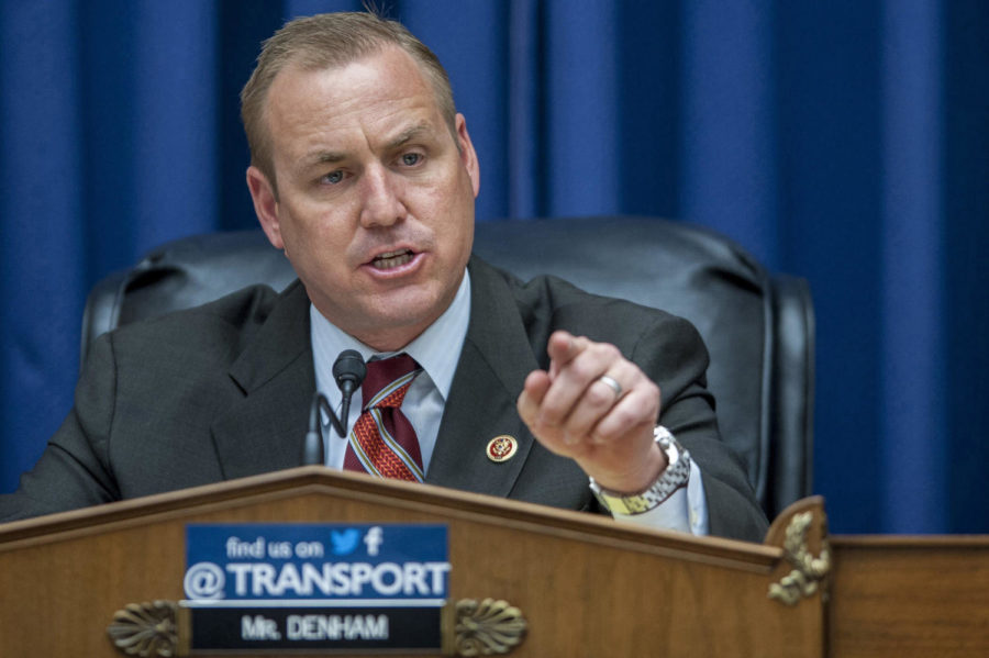Rep. Jeff Denham (R-Calif.), during a hearing on Capitol Hill on February 26, 2014, in Washington, D.C. (Pete Marovich/TNS)