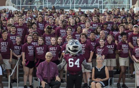 SIU administrators, faculty welcome new students during fall semester convocation