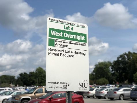Parking lot south of Communications Building changed to green decal lot