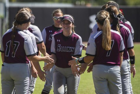 SIU splits MVC doubleheader with Northern Iowa