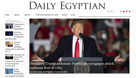 Daily Egyptian wins Online Pacemaker award