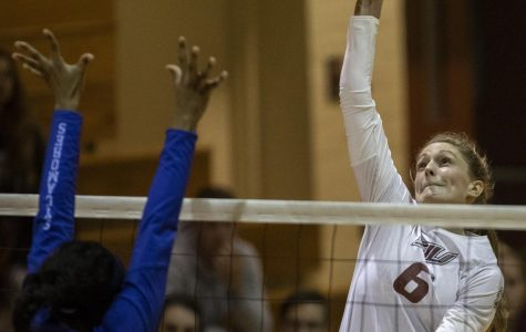 Saluki volleyball falls to Evansville