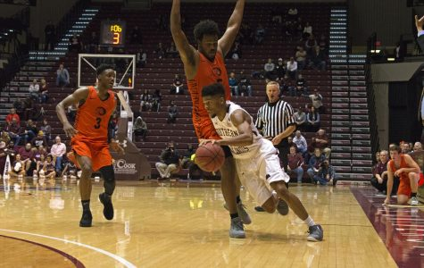 Saluki basketball opens season with an exhibition win against East Central