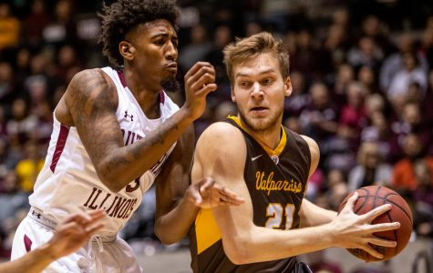 SIU falls in second straight conference matchup against Valparaiso