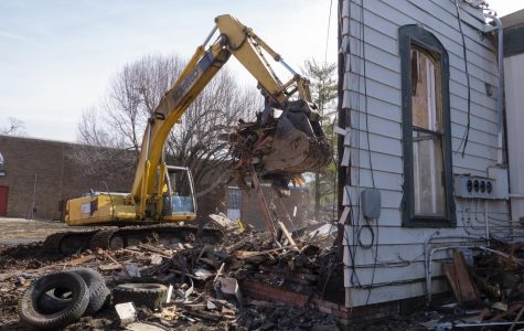 Historic Carbondale building destroyed by fire demolished