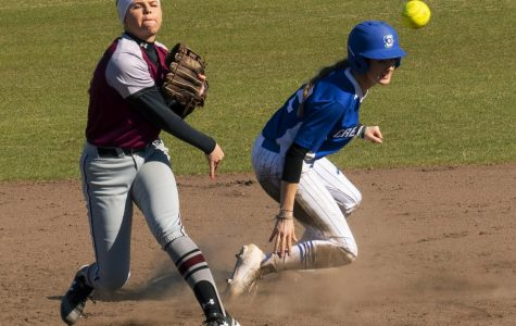 Softball falls to Creighton Bluejays, nine game win streak ends