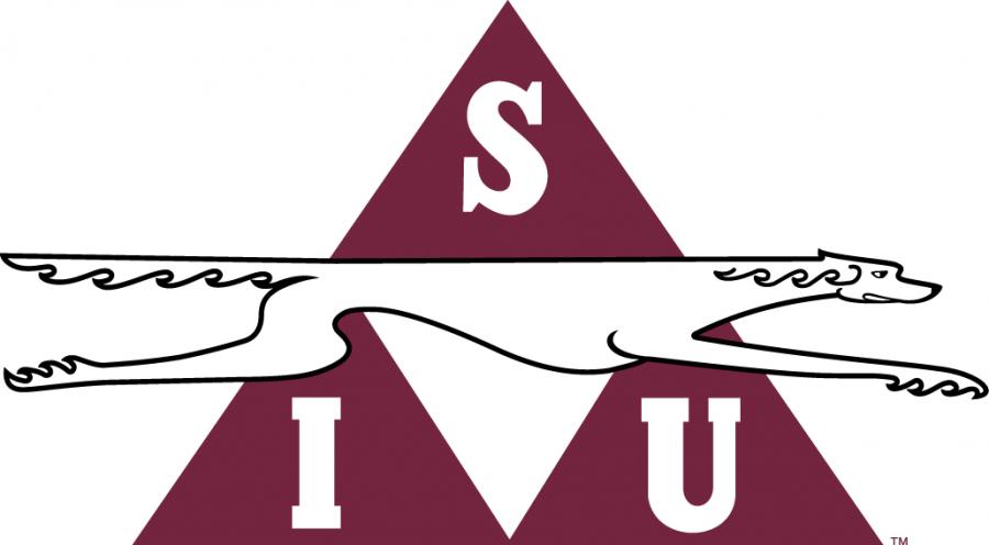 1964-1976 logo, courtesy of SIU Athletics.