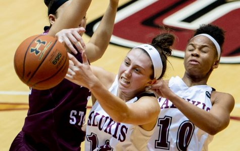 Women's basketball: Salukis fall to undefeated Missouri State, 70-58