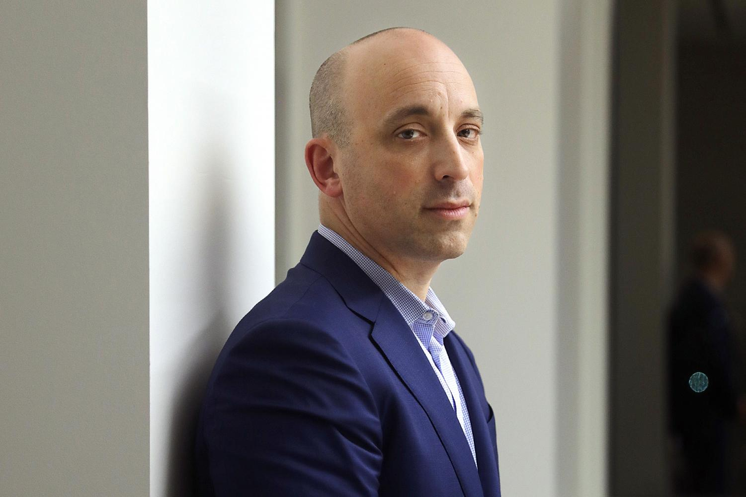 Jonathan Greenblatt, CEO of the Anti-Defamation League, is photographed in Los Angeles, Calif. on Wednesday, January 16, 2018.