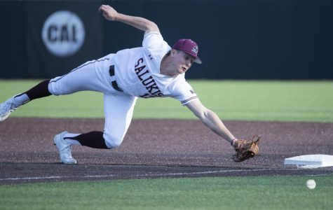 Salukis down SIUE Cougars in bullpen battle