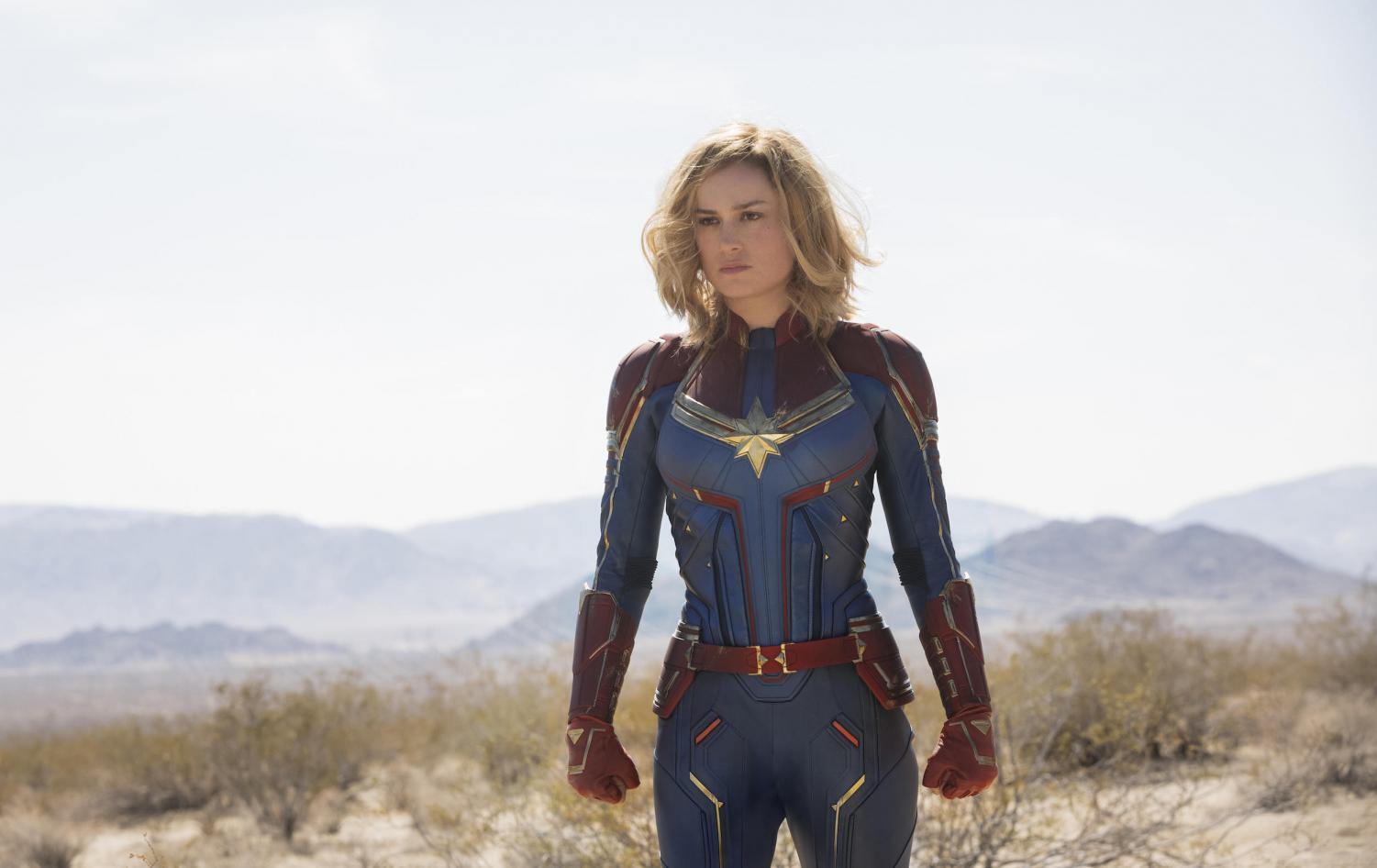 Brie Larson as Captain Marvel. Image provided by Marvel.
