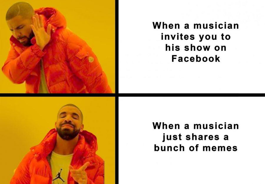 You're Dumb and Wrong: Just because I like your memes doesn't mean I'll go to your band's bar gig