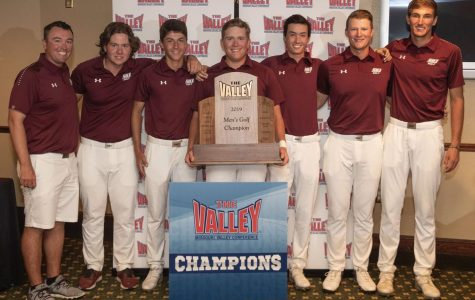 Twice is nice: Men's Golf takes gold at 2019 MVC Championship