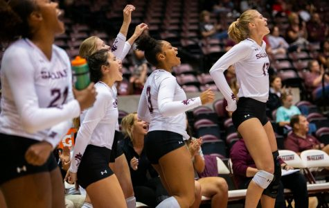 Salukis take down Lions in final Saluki Bash match
