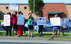 CESPA holds rally, protests in favor of fair wages, fair negotiation