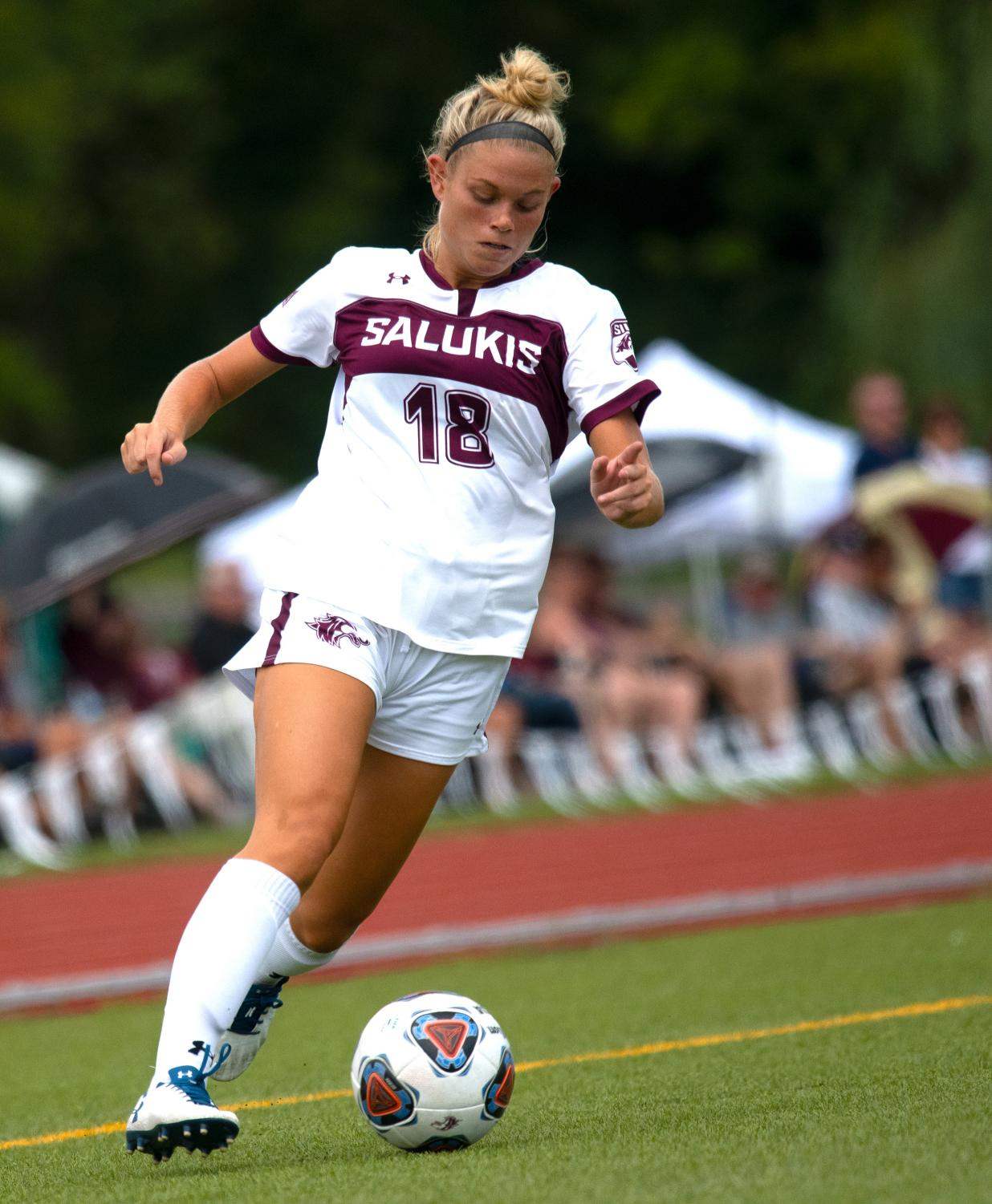 Blake+Clark%2C+of+Marion%2C+kicks+the+ball+during+the+SIU+vs.+IUPUI+game+on+Sunday%2C+Sept.+1%2C+2019%2C+in+Carbondale.+