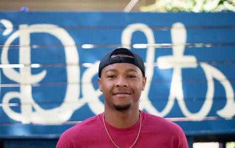 Keith Rogers, the first ever mental health chair for the fraternity Omega Delta on Saturday, September 14, 2019.