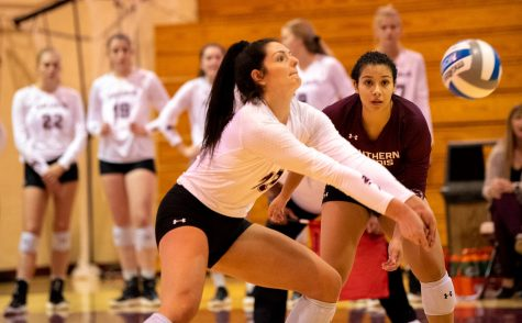 SIU swept in game one of Notre Dame Invitational