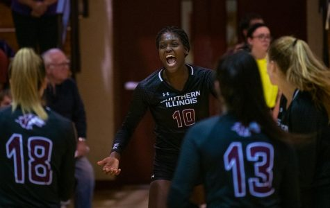 Low bids, high hopes: Saluki volleyball sees improved MVC season