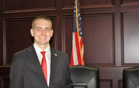 Zachary Meyer announces his running for State Rep in the 115th District on Oct. 2, 2019. Photo courtesy of Zachary Meyer.
