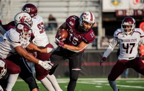 Salukis fend off Bears for four-game winning streak