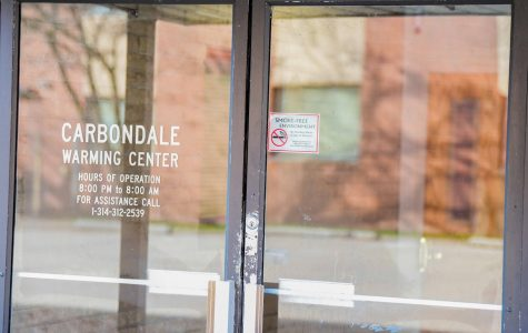 Carbondale Warming Center offers a place to stay for those who who are in need of overnight accommodations on Monday, Jan 13, 2020 in Carbondale, IL.