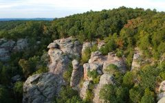 Garden of the Gods in Shawnee National Forest is a popular tourist destination in Southern Illinois on Saturday, Aug. 24, 2019 in Heron, IL. @bisalo