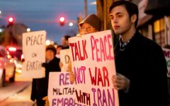 'Respect soldiers, make peace' Carbondale citizens gather to protest conflict in Iran