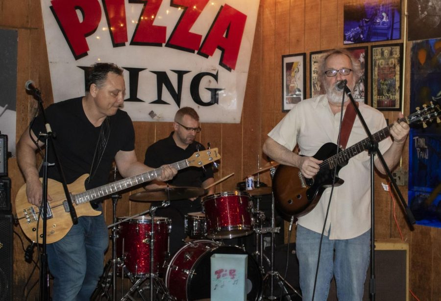 Chris DiBiase, Jimmy Beers and Robert Russel play and sing Saturday, Jan. 25 at PK's.