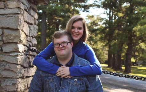 Reporter Bethany Rentfro with her fiance, Collin Heyde.