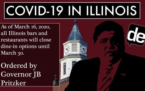 COVID-19 update: Gov. Pritzker closes all bars and restaurants in Illinois
