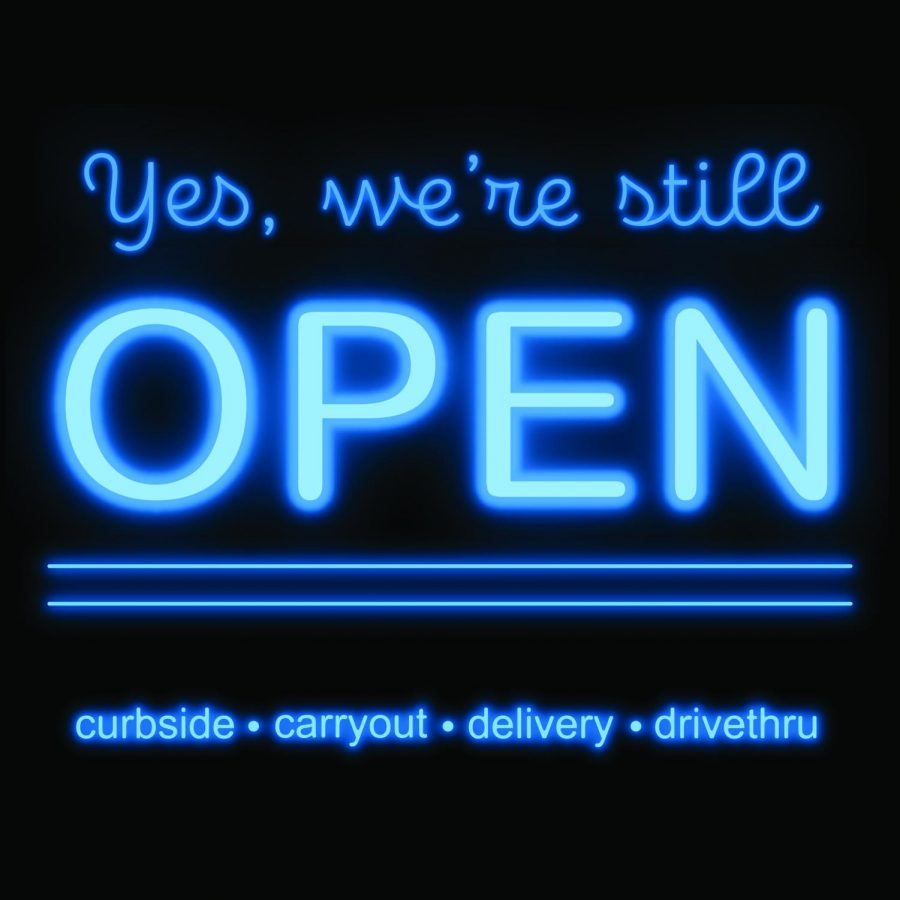 List: Local restaurants open for curbside, carry out, delivery and drive thru