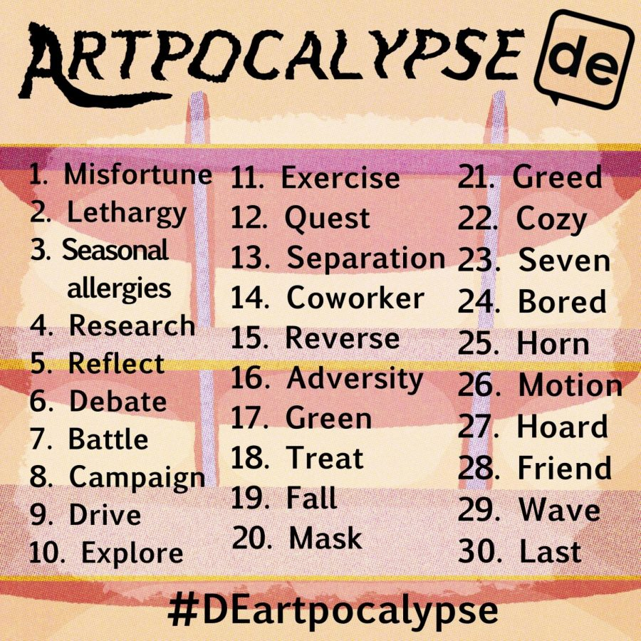Artpocalypse April: A Daily Egyptian art challenge