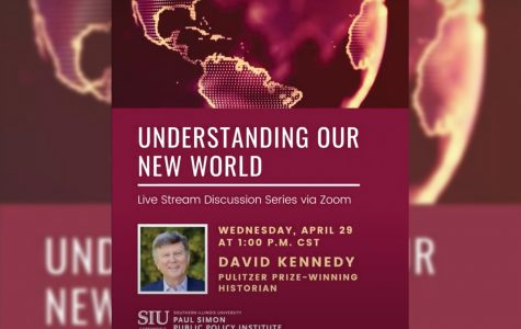 """Understanding Our New World"" Paul Simon Public Policy Institute hosts discussion with Pulitzer Prize winning historian"