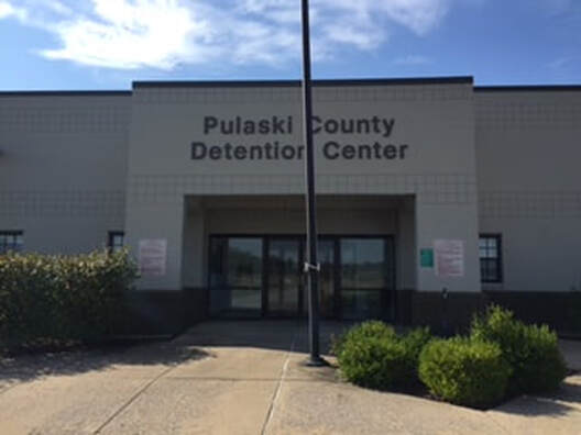 Activists advocate for compassionate release of detainees at Pulaski County Detention Center