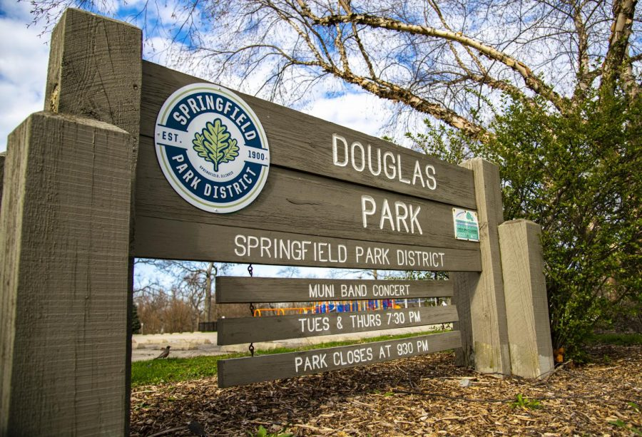 The Springfield Park District in Springfield, IL has decided to rename Douglas Park due to the name being associated to the late Sen. Stephen Douglas. Stephen Douglas became a senator in the late 1840's, where he remained until his death in 1861 . Monuments and other properties that share his name and/or likeness in Illinois  have been under review because of Douglas' connections and profiting off of slavery. The Springfield Park District voted 7-0 in favor of the change on Wednesday, Sept. 16, 2020. In the past month, officials at the Illinois State Capitol building, have also decided to take down the Stephen Douglas statue that currently resides on the east side of the building on the capital grounds. The removal process of the statue is already underway, but the renaming of the park is to be determined. This photo was taken on Sunday, Apr. 5, 2020 in Springfield, IL.