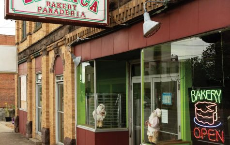 La Unica Bakery, owned by Dáris Herrera, 39, is a family run bakery which has been located in downtown Carbondale for 12 years. Not only does the bakery provide pastries for their customers but they provide for local businesses like Underground Public House, August 27, 2020.