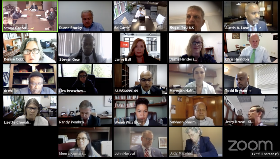 BOT meeting via Zoom, Sept. 17 2020