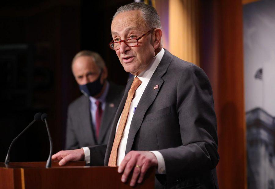 Senate Minority Leader Chuck Schumer. (Win McNamee/Getty Images/TNS)