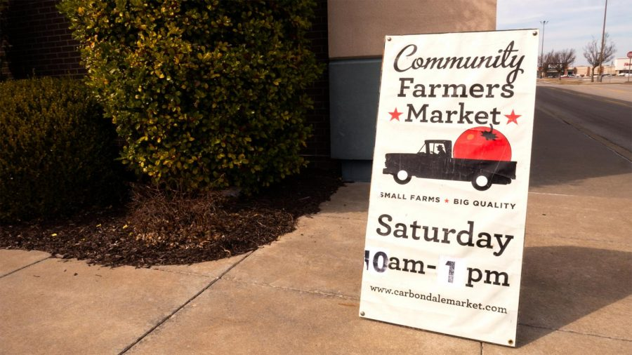 The Community Farmers market invites patrons to come to shop the wares of a coalition of local farmers and community members Saturday, February 27, 2021, in Carbondale, Ill.