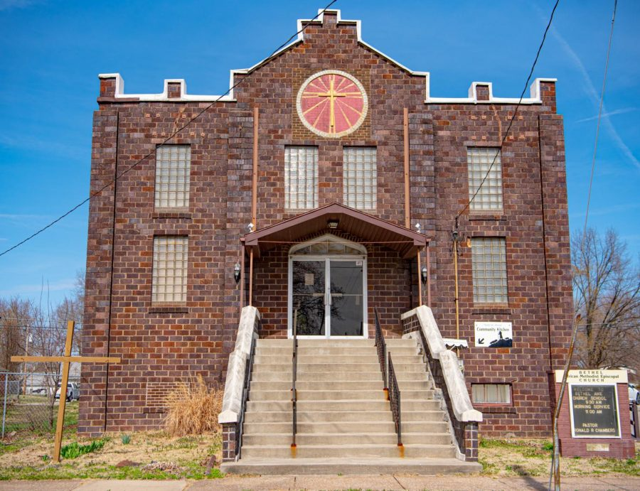 Bethal African Methodist Episcopal Church, located on East Jackson Street, was founded in 1864 just before the end of the US Civil War on Friday, March 12, 2021 in Carbondale, Ill.