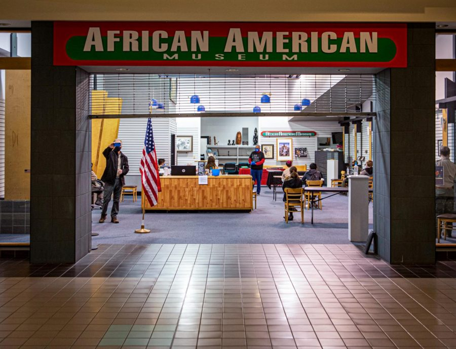 The African-American Museum of southern Illinois preserves the history and achievements from African-Americans Monday, Feb. 22, 2021 in University Mall in Carbondale, Ill. The museum is a non-profit organization operated by volunteers since 1997.