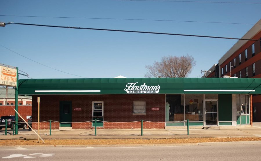 Horstman's Cleaners & Furriers off of southbound Highway 51 Tuesday, Mar. 2, 2021 in Carbondale Ill. This is the second location Horstman's has operated out of in the store's history.
