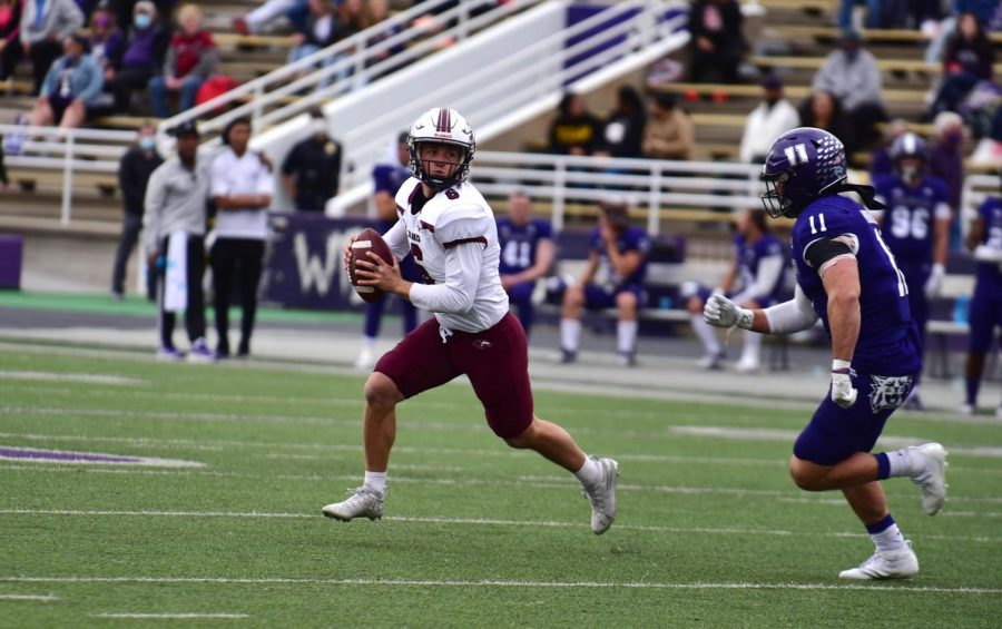 Photo courtesy of SIU Athletics taken at the SIU vs. Weber State game on Saturday, April 24, 2021.