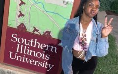 Keshanna Jackson pictured on the SIU campus. Photo provided by Kaszcha Jackson