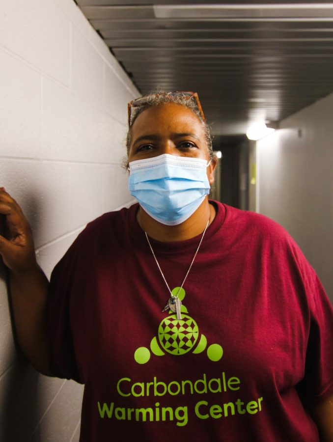 Carmalita Cahill, the Executive Director at the Carbondale Warming Center, poses for a portrait Aug. 15, 2021